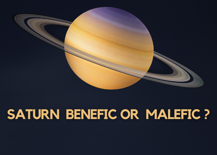 SATURN BENEFIC OR MALEFIC _
