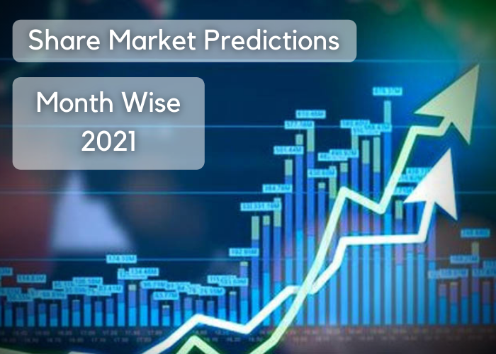 Stock Market Astrological Predictions: Month Wise Year 2021
